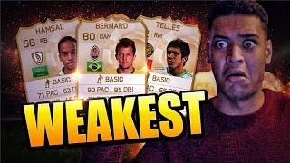 THE WEAKEST TEAM!!! FIFA 15 Thumbnail