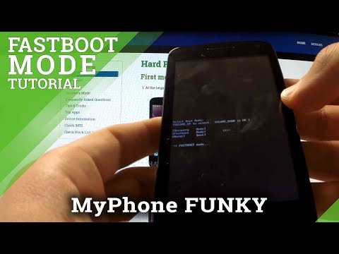 Fastboot Mode MyPhone Funky - How To Enter