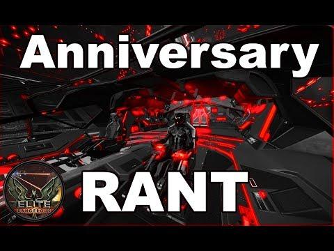 Anniversary rant Elite Dangerous