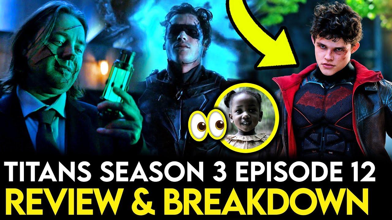 Download Titans Season 3 Episode 12 Breakdown - Ending Explained, Things Missed & Theories!