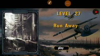 Expedition For Survival Level 27 RUN AWAY Walkthrough Game Guide HFG ENA