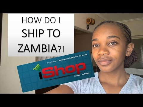 ONLINE SHOPPING AND DELIVERIES TO ZAMBIA (*not sponsored)