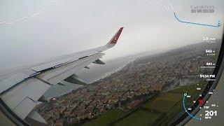 Thy A321 Sharklets Firtinali Havada İstanbuldan K