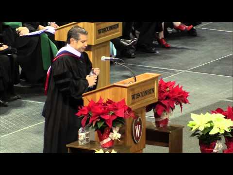 UW-Madison 2014 Winter Commencement: Charge to the Graduates from Ben Deutsch