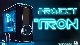 Ultimate 4k gaming PC TRON Case MOD