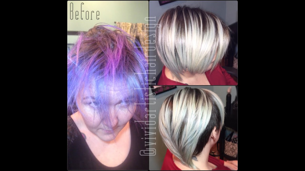 Removing Vivids With Rebecca Taylor Of Vivid Artistic Hair Design