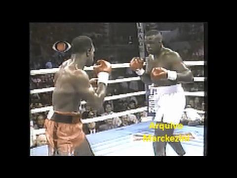 Boxe - Evander Holyfield x James Buster Douglas (Bandeirantes/1990)