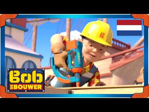 Bob de Bouwer nederlands 🌟 Werkt aan de waterkant 🌟 lange compilatie | Cartoons voor kinderen