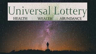 Universal Lottery  Ask And You Will Receive  Attract Wealth and Abundance  Simply Hypnotic