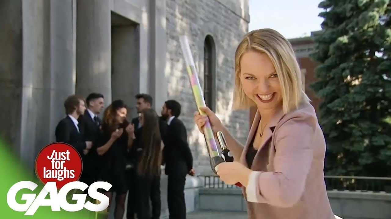▶ NEW 2019 August Pranks   Just for Laughs BEST Gags Compilation