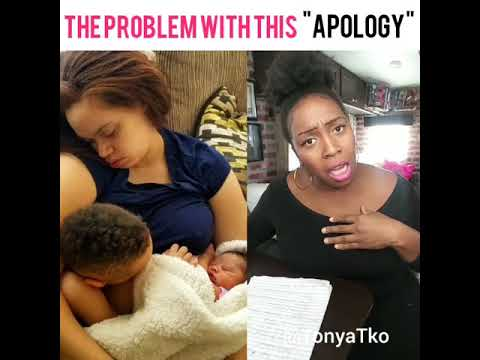 "The #1 Probem with this ""Apology"" is......."