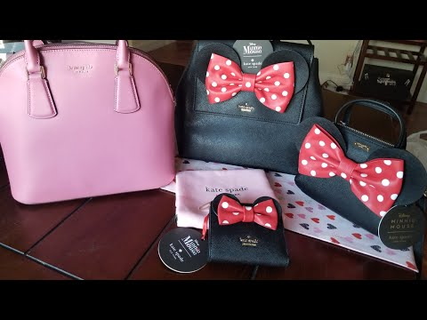 Kate Spade Disney Minnie Unboxing From Their Surprise Sale!