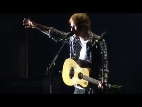 """Ed Sheeran - """"The A Team"""" (Live in San Diego 6-23-15)"""