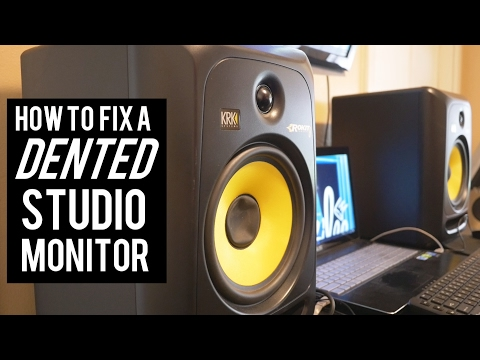 MUSIC PRODUCERS - How To Fix A Dented Studio Monitor or Speaker