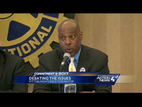 Pittsburgh mayoral debate tackles immigration, bike lanes, drinking water safety