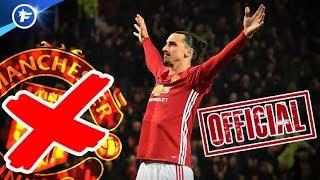 OFFICIEL : Ibrahimovic quitte Manchester United !   Revue de presse