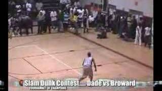 Dade vs Broward All-Stars Slam Dunk Contest