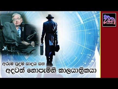 නොපැමිණි කාලයාත්රිකයා Stephen Hawking's Time Travelers Party