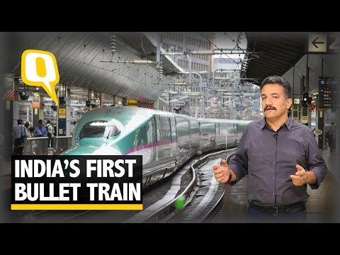 India's First Bullet Train Between Mumbai and Ahmedabad -  The Quint