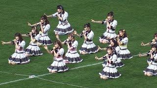 NMB48「床の間正座娘」Jリーグ開幕戦ハーフタイムライブ C大阪−V神戸 2019.2.22