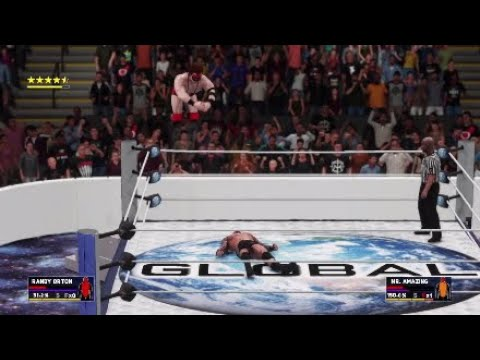 WWE 2K18 Universe Mode Ep.56 Global Wrestling from Mexico City,Mexico.