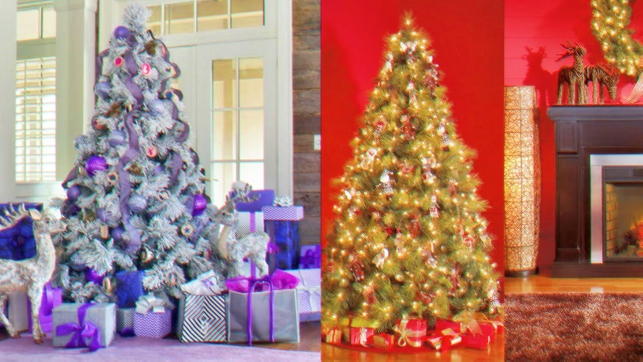 Los mejores arboles navide os para decorar tu hogar youtube for Disenos navidenos para decorar puertas
