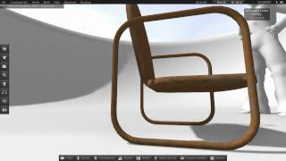 Mesh Garden Chair Weathered (slm0082)