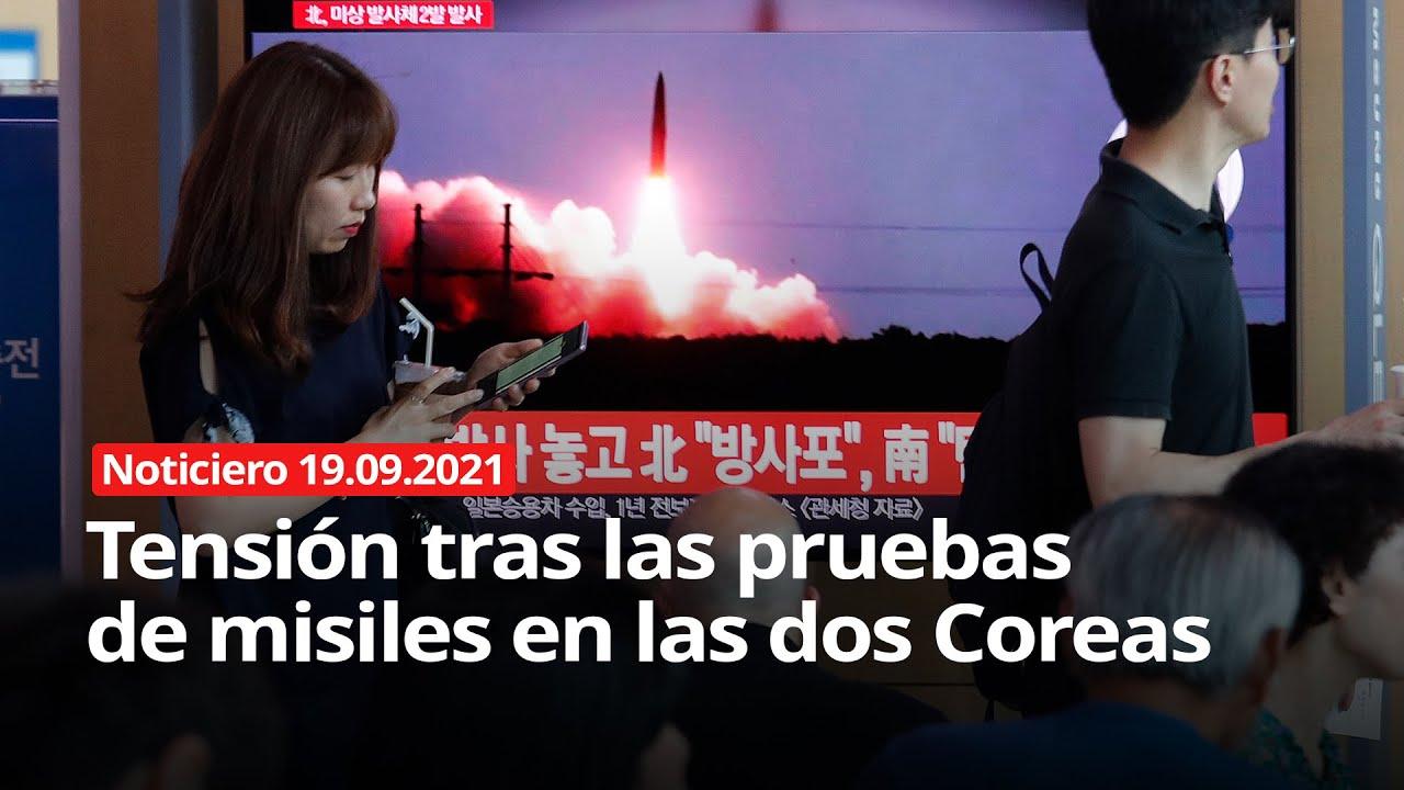 Download NOTICIERO 19/09/2021 - Tensión tras las pruebas de misiles en las dos Coreas