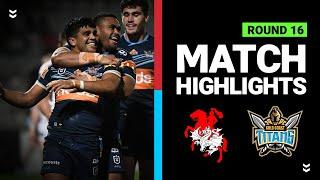 Dragons v Titans | Round 16 2020 | Telstra Premiership | NRL
