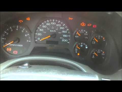 Chevy Trailblazer Dashboard Lights Flashing