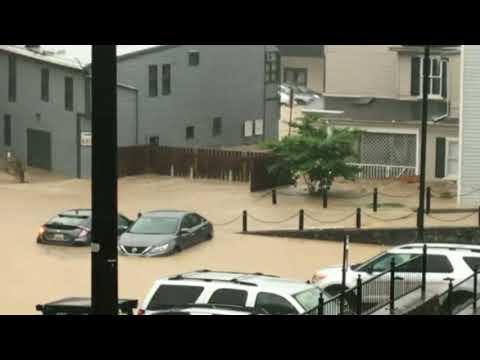 Ellicott City, MD Main Street Flooding May 27th, 2018