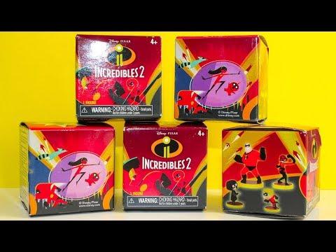 Суперсемейка 2 Мультик про Сюрпризы Игрушки Распаковка Видео для детей Incredibles 2 Surprise