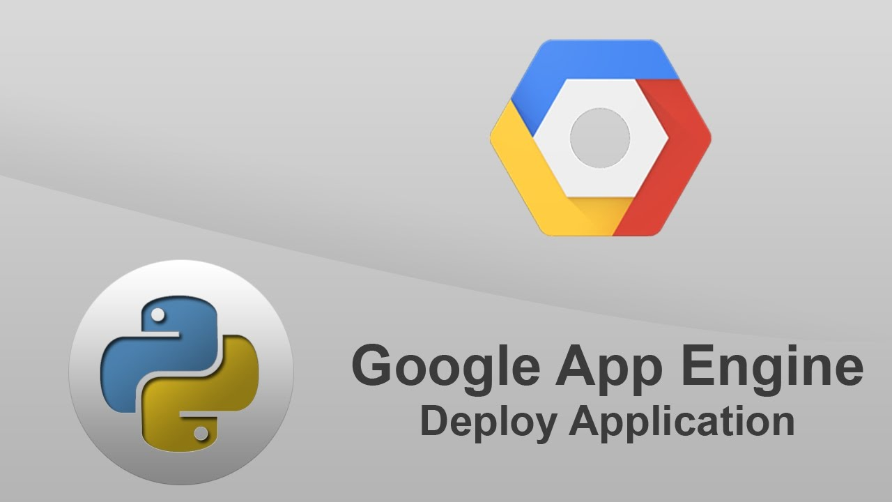 python google app engine - deploy application to google cloud