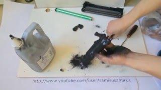 Принтер Canon  LBP6000, как заправить картридж(Лазерный принтер Canon LBP6000 является очень надёжным и простым в обслуживании! Я попытался доступно показать,..., 2015-01-21T12:04:00.000Z)