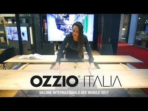 Salone del mobile 2017 | Ozzio Italia | Milan | SPACE SAVING FURNITURE