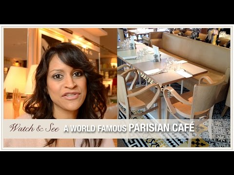 Design inspirations from a world famous Parisian cafe