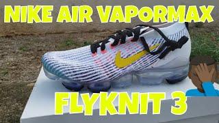 Air VaporMax Flyknit 3 'White Dynamic Yellow'
