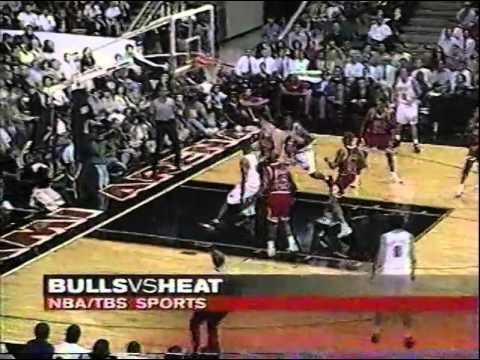Chicago Bulls early 1996-97 NBA Season Game by Stuart Scott