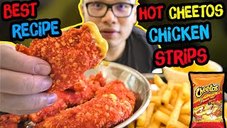 HOT CHEETOS CHICKEN STRIPS. Done Right