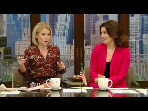 Live With Kelly 01242017 cohost Bellamy Young;John Goodman;Chrissy Metz