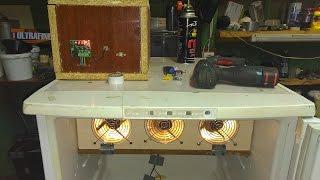 Изготовление инкубатора: терморегулятор, подключение электрики