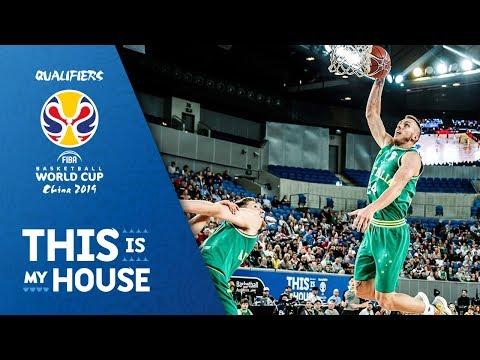 Australia's sensational dunking show vs. Chinese Taipei 🔥😱