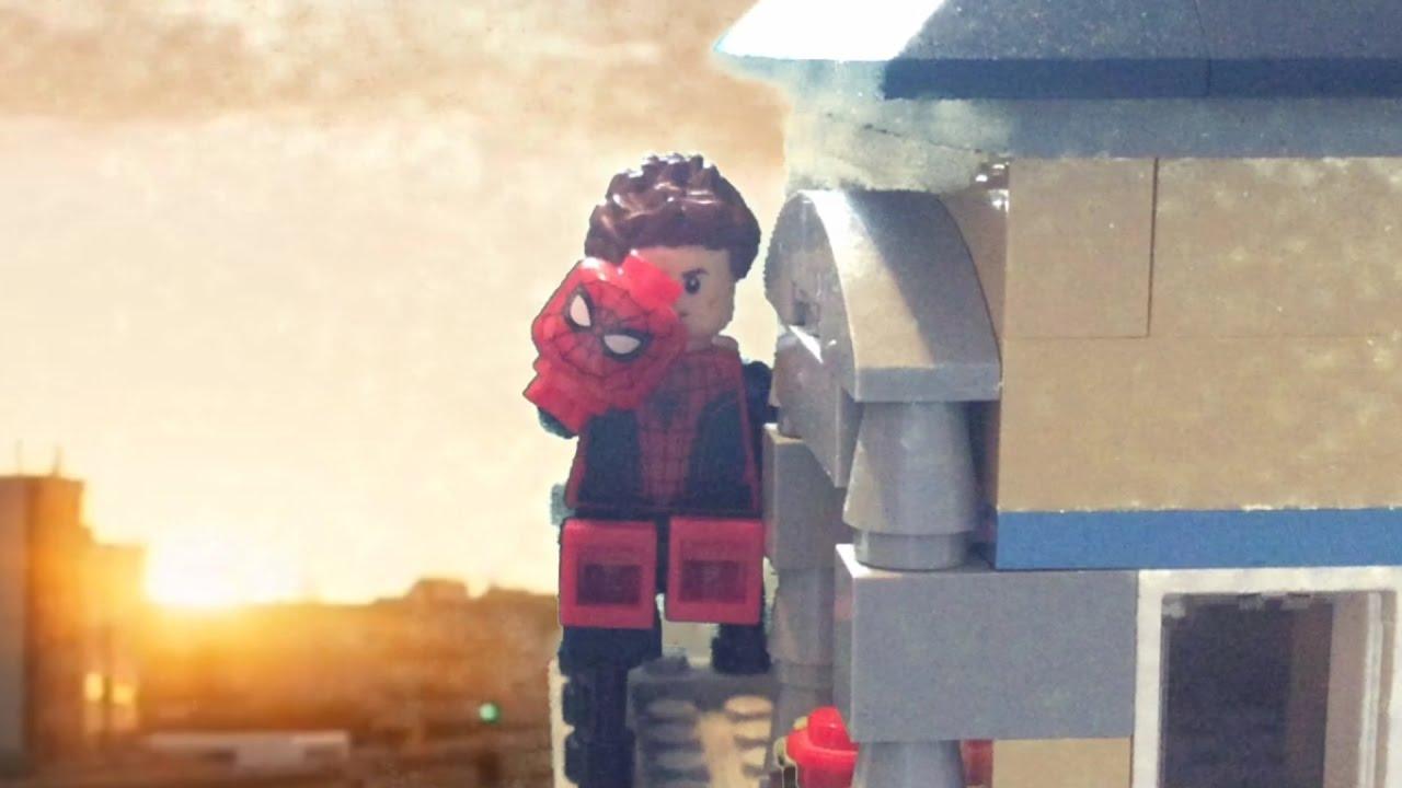 Человек-паук возвращение домой игрушки лего