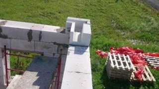 Строим дом из газобетона. Первый этаж готов!(, 2016-07-14T19:09:31.000Z)