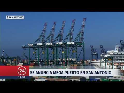 Mega puerto en San Antonio