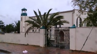 S.Africa:images of of the mosque where two people were stabbed