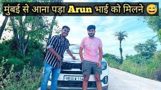 Meeting ARUN PANWAR @Arun Panwar  | My Nios Review by Arun bhai 😅 | ये बात तो सही कह दी /Plus Drive