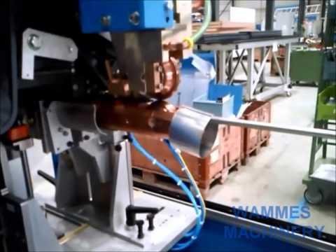 Automatische Rohrschweißlinie SWA 400 | Automatic Pipe Welding Line SWA 400