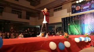 NÃO CÁ VÀNG (LIVE) - LOU HOÀNG - CĐ KINH TẾ CÔNG NGHỆ QUẬN 12 - 04.04.2017