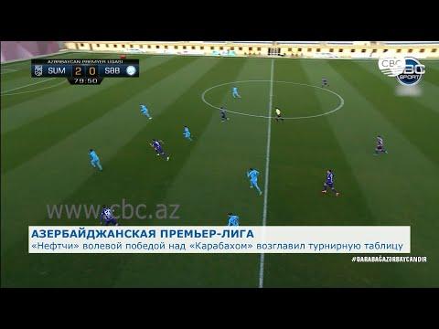 «Нефтчи» волевой победой над «Карабахом» возглавил турнирную таблицу